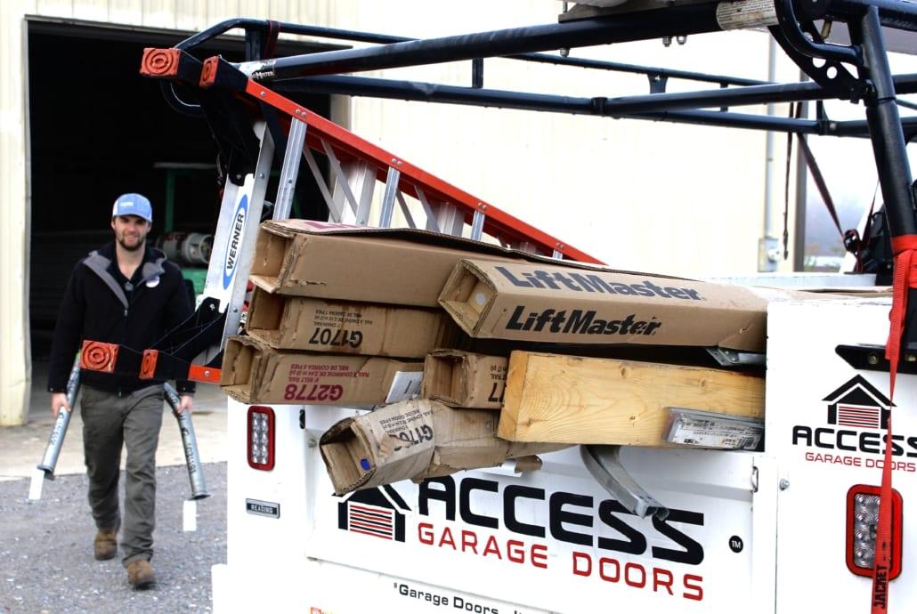 Garage Door Service Load Up